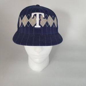 Texas Rangers New Era 59Fifty Fitted Baseball Cap